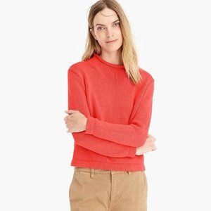 NWT J. Crew 1988 Rollneck Cropped Knit Sweater